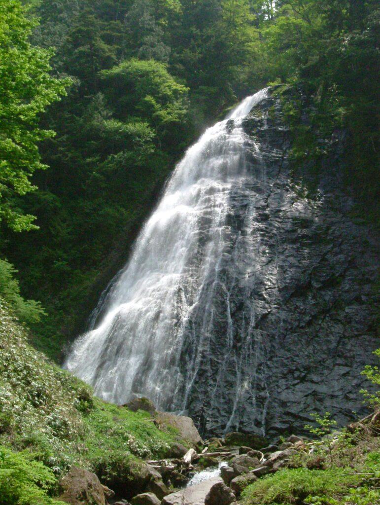 五色ヶ原の森 池之俣御輿滝