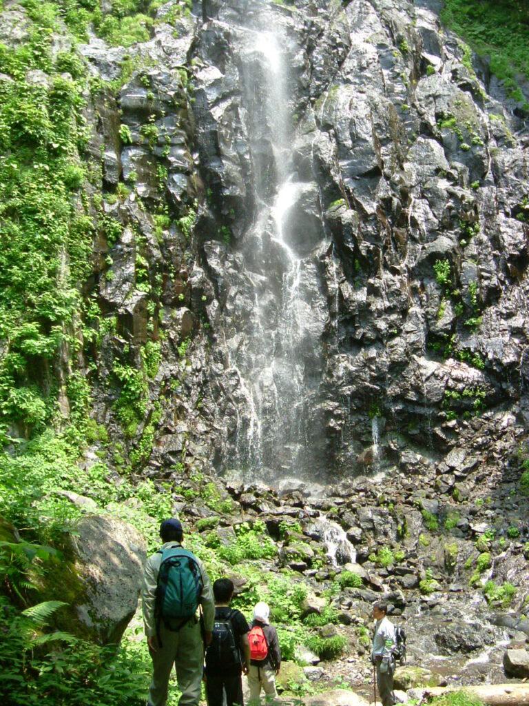 五色ヶ原の森 青垂滝雄滝